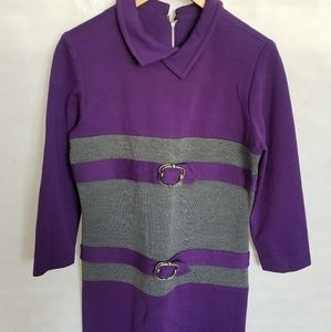 Women's 1970s ILGWU Knit Dress